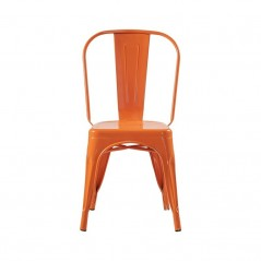 Chaise B2 en métal orange