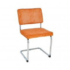 Chaise B4  en tissu orange
