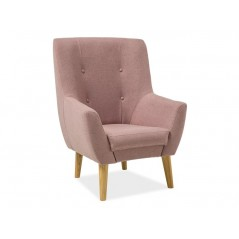 Fauteuil F3 rose