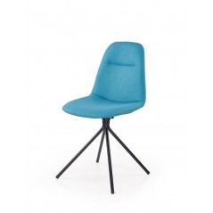 Chaise Z27 bleu turquoise