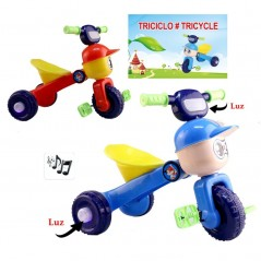 Tricycle  musical couleur au choix