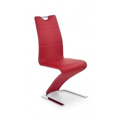 Chaise Z45 rouge