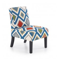 Fauteuil Angers multicolore