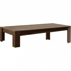 Table basse 120x65 cm  Paris cognac