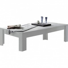 Table basse 120x65 cm  Paris blanc
