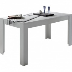 Table 180x90 cm  Paris blanc