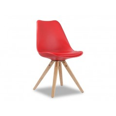 Chaise Ambre rouge