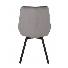 Chaise Emy gris