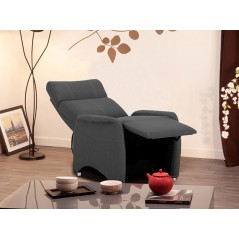 Fauteuil relax Ethan gris
