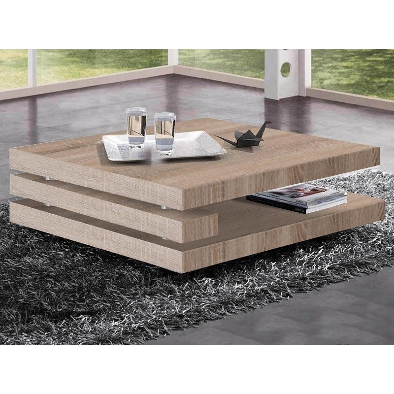 Table Basse Antonin Table Basse Chêne Clair Promotion Chez Zymahome Fr